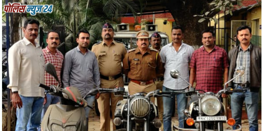 wanwadi Police arrest motorcycle thieves