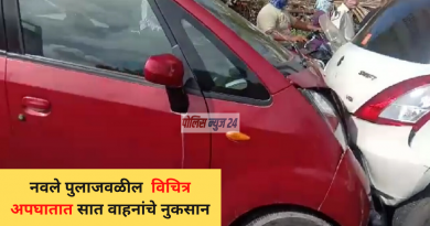 sinhagad road car accident today